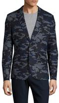 Antony Morato Camouflage Notch Lapel Sportcoat