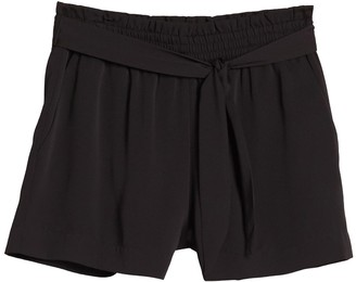 BCBGeneration Front Tie Shorts