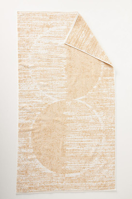 Anthropologie Sunset Towel Collection By in Beige Size BATH TOWEL