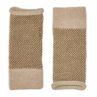 Slate & Salt Interwoven Alpaca Gloves