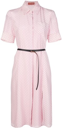 Altuzarra Polka Dot Belted Dress
