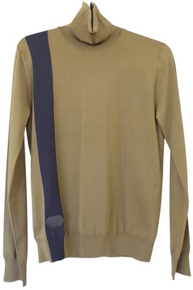 Louis Vuitton Khaki Silk Knitwear for Women