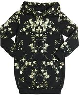 Givenchy Hooded Floral Cotton Sweatshirt Dress
