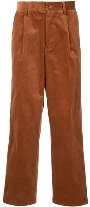 Coohem Stripe-Side Corduroy Trousers