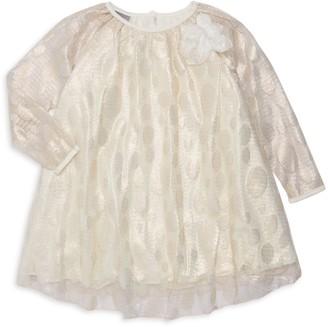 Pippa Pastourelle By & Julie Little Girl's Embellished Shadow Dot Swing Dress