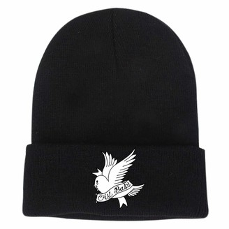 Six Day six-day Lil PEEP Embroidered Knitted Hat