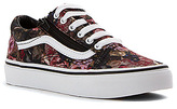 Vans Kids vans Kid's Old Skool Zip - Moody Floral