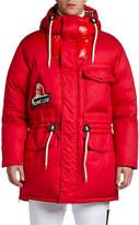 Moncler Men's Dedion Hooded Puffer Coat