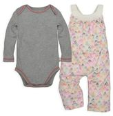 Burt's Bees Baby® 0-3M 2-Piece Organic Cotton Dotted Mountains Overall and Bodysuit Set