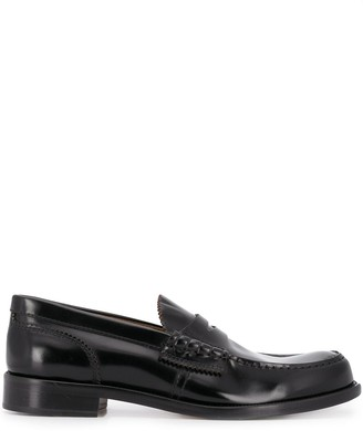 College Leather Penny Loafers