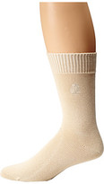Tommy Bahama Initial Embroidery Crew Socks