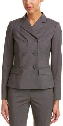 Lafayette 148 New York Eleanor Modern Fit Wool-Blend Jacket