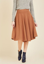 Field Notable Midi Skirt in S
