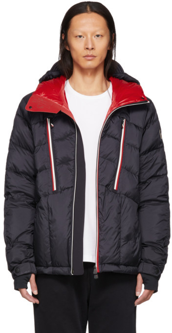 Moncler Black Down Arnsee Jacket