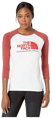 The North Face Americana Tri-Blend Baseball Tee