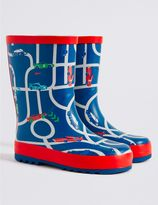 Marks and Spencer Kids' Novelty Car Welly Boots