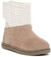 Toms Suede Metallic Faux Fur Lined Nepal Boot (Baby, Toddler, & Little Kid)