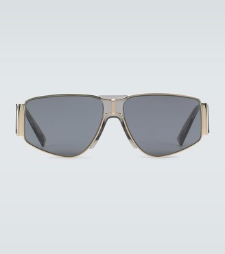 Givenchy Wide arm metal sunglasses