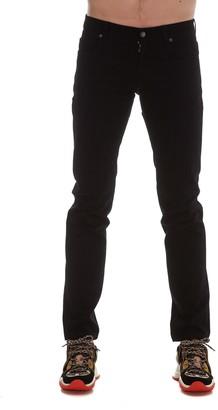 Fendi FF Printed Straight-Leg Jeans