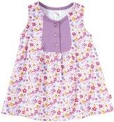 Zutano Violetta Darling Dress (Baby) - White-18 Months