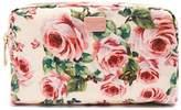 Dolce & Gabbana Floral-print fabric washbag