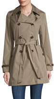 Via Spiga Bonded Trench Coat