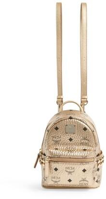 MCM Xmini Studded Stark Backpack