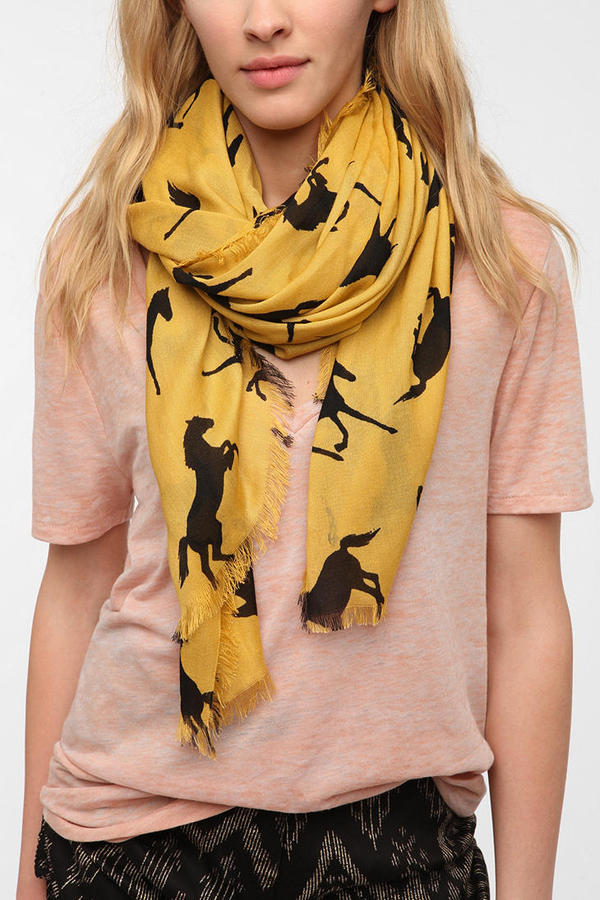 Urban Outfitters Cooperative Conversational Print Scarf