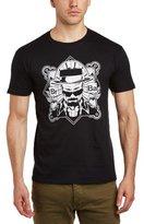 Walter Breaking Bad Men's White Face Crew Neck Short Sleeve T-Shirt
