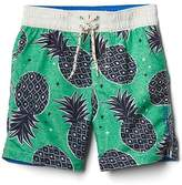Gap Pineapple swim trunks