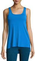 Beyond Yoga Cross The Line Athletic Tank Top, Blue