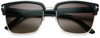 Tom Ford River 57MM Square Sunglasses