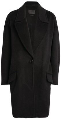 Isabel Marant Ego Wool-Cashmere Coat