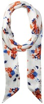 Vince Camuto Painted Ditsy Floral Skinny Scarf Scarves