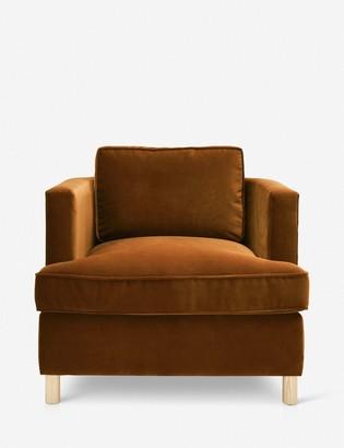 Lulu & Georgia Belmont Accent Chair, Cognac By Ginny Macdonald