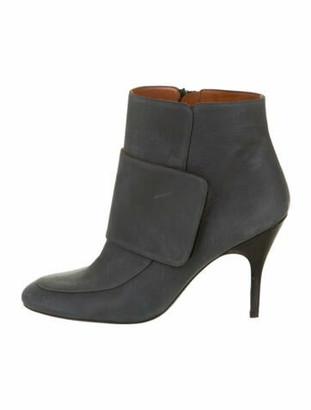 Lanvin Leather Boots Blue
