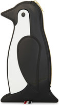 Thom Browne Penguin patent leather clutch