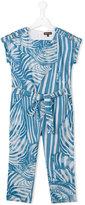 Roberto Cavalli printed jumpsuit - kids - Cotton - 4 yrs