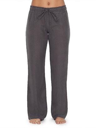 Felina Lounge Izar Jacquard Woven Pajama Pants