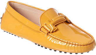 Tod's Gommino Patent Driving Shoe