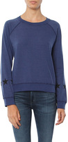 Monrow Vintage Sweatshirt With Stars