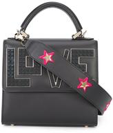 Les Petits Joueurs mini 'Alex Black Widow' tote - women - Calf Leather - One Size