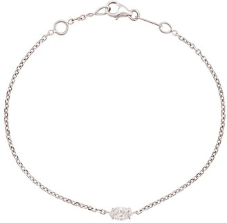 Anita Ko 18kt White Gold Marquis Diamond Chain Bracelet