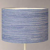 John Lewis Coastal Cleystripe Lampshade