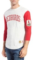 Mitchell & Ness 'St. Louis Cardinals - Extra Out' Tailored Fit Three Quarter Baseball T-Shirt