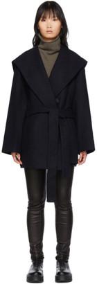 The Row Navy Reyna Jacket
