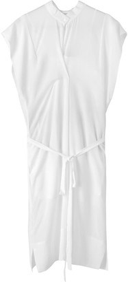 Voya Neptune Silk White Dress