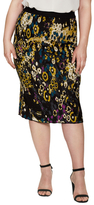 Rachel Roy Intarsia Sweater Pencil Skirt