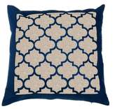 Evergreen Burlap Outdoor Pillow