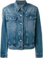 MM6 MAISON MARGIELA classic denim jacket - women - Cotton/Polyester - 36